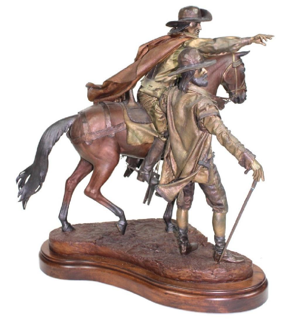 "Dave McGary "" The Founding of Santa Fe"" Bronze - 10"