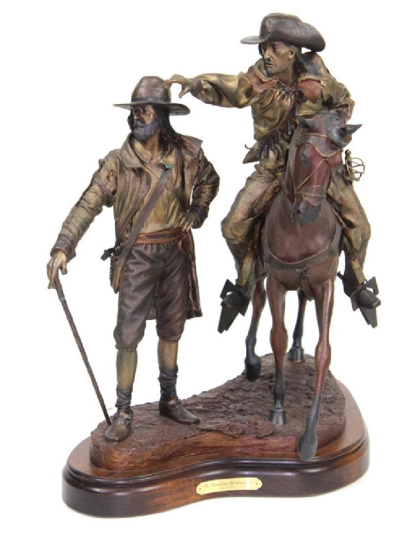 "Dave McGary "" The Founding of Santa Fe"" Bronze"