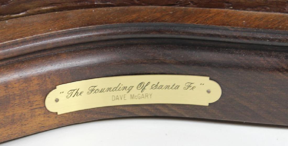 "Dave McGary "" The Founding of Santa Fe"" Bronze - 2"