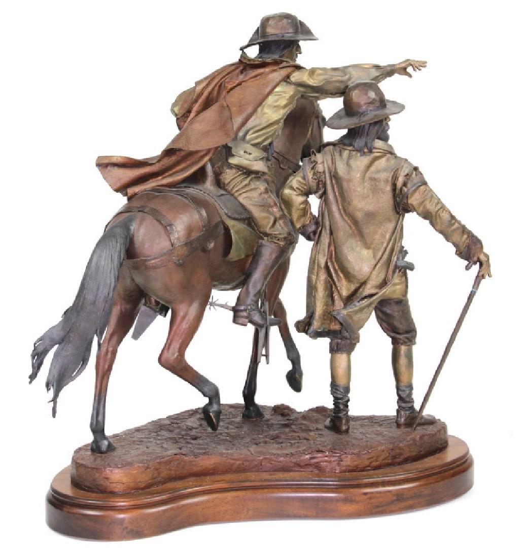 "Dave McGary "" The Founding of Santa Fe"" Bronze - 6"