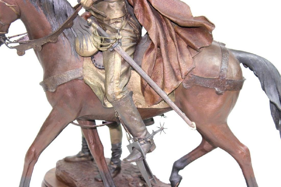 "Dave McGary "" The Founding of Santa Fe"" Bronze - 7"
