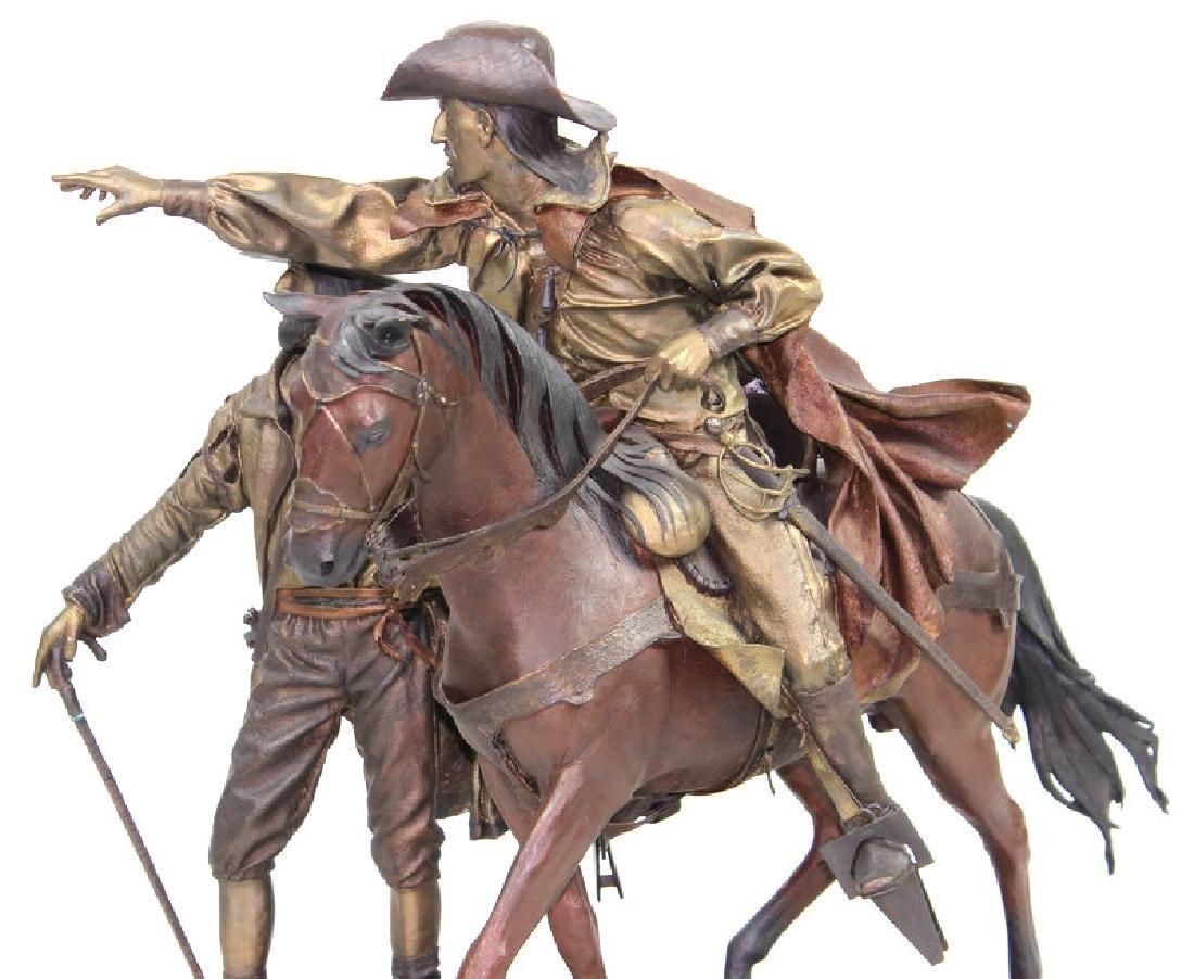 "Dave McGary "" The Founding of Santa Fe"" Bronze - 8"