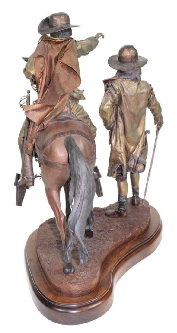 "Dave McGary "" The Founding of Santa Fe"" Bronze - 9"