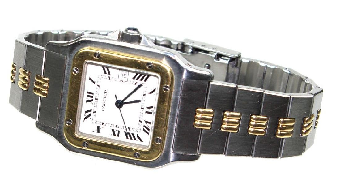 Cartier 18 Karat & Stainless Steel Automatic Watch - 2