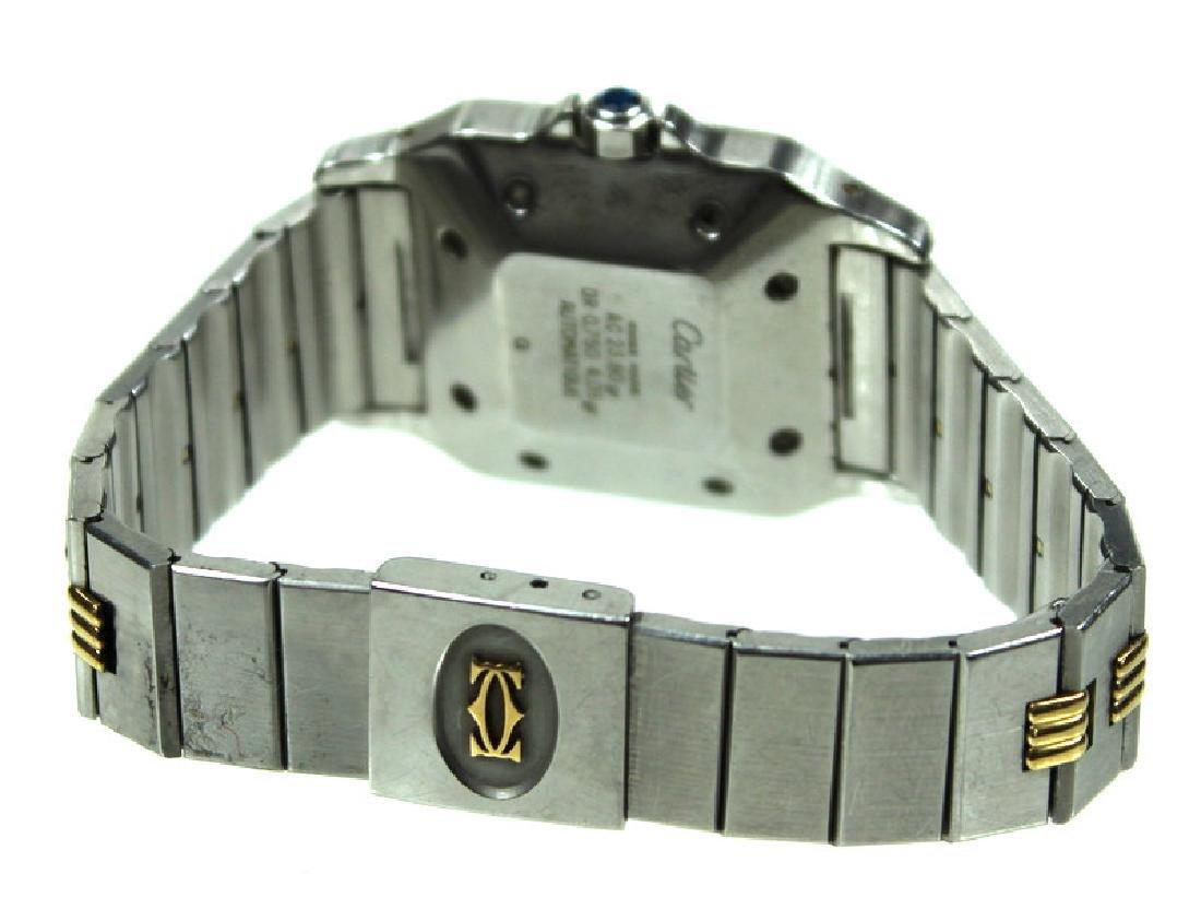Cartier 18 Karat & Stainless Steel Automatic Watch - 3