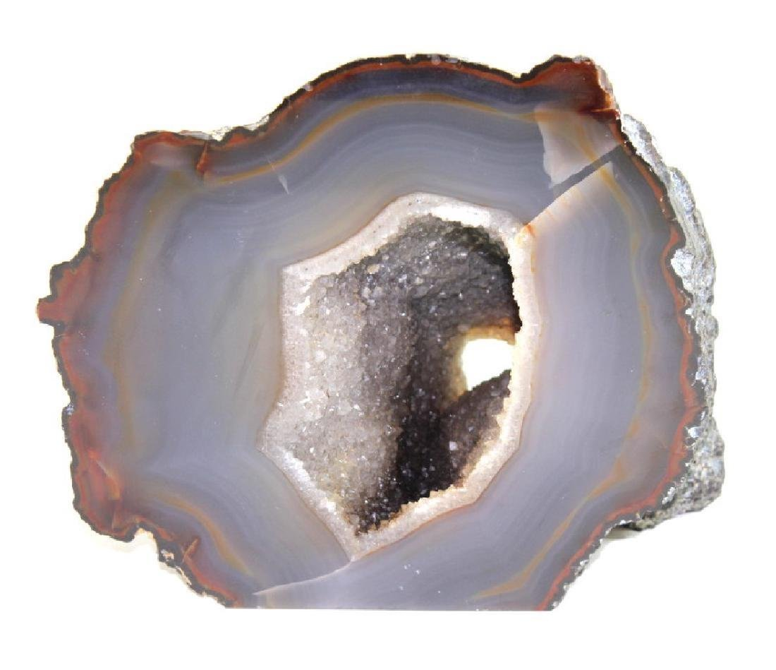Large Agate Chalcedony Geode