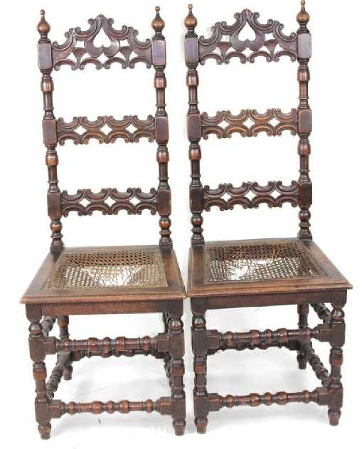- Antique Kittinger Buffalo Chairs
