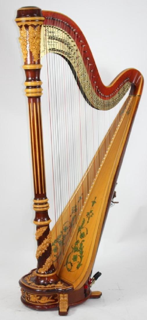 Important Venus Grand Concert Harp