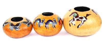 (3) Three Gourds, Denise Meyers