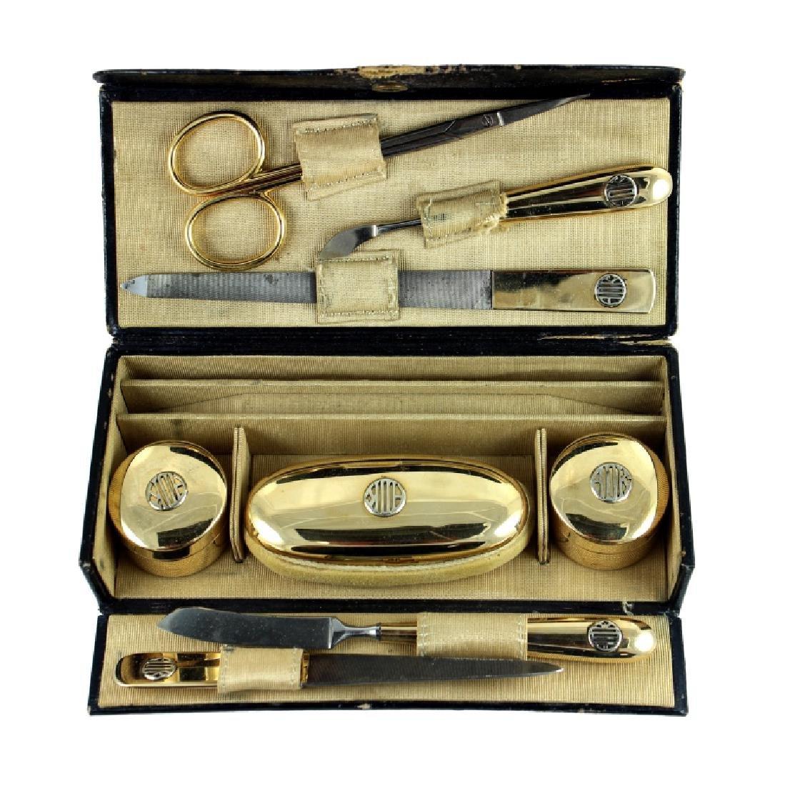 Cartier Fine & Rare 14K Victorian Manicure Set