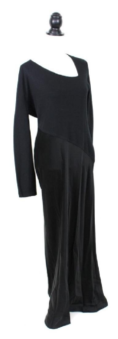 Donna Karan Signature Black Gown - 2