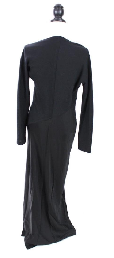 Donna Karan Signature Black Gown - 3