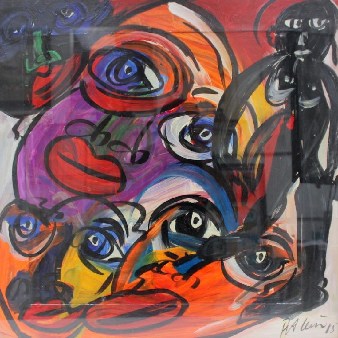 """PETER KEIL (GERMAN B.1947) """"MY LIPS YOUR EYES"""""""