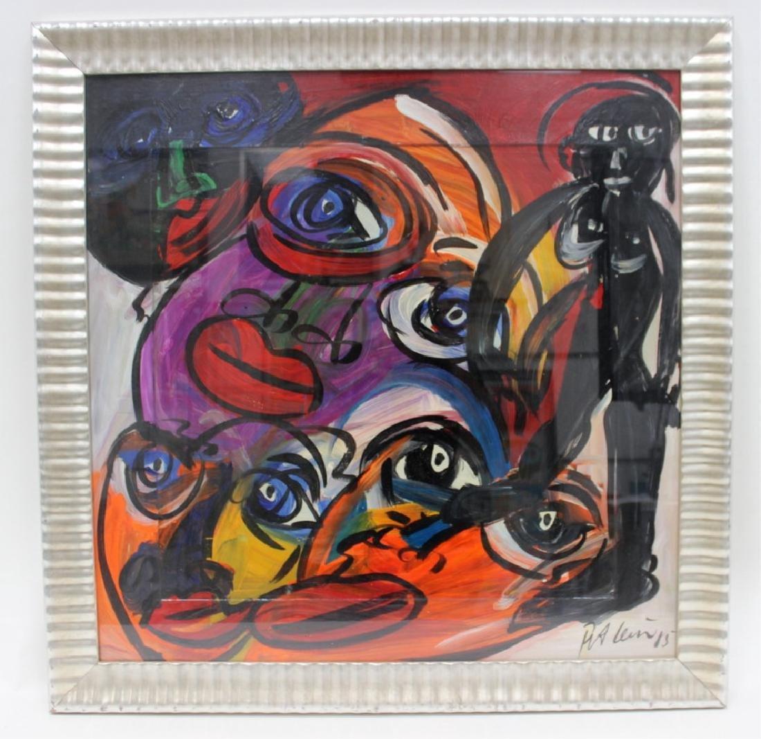 """PETER KEIL (GERMAN B.1947) """"MY LIPS YOUR EYES"""" - 2"""