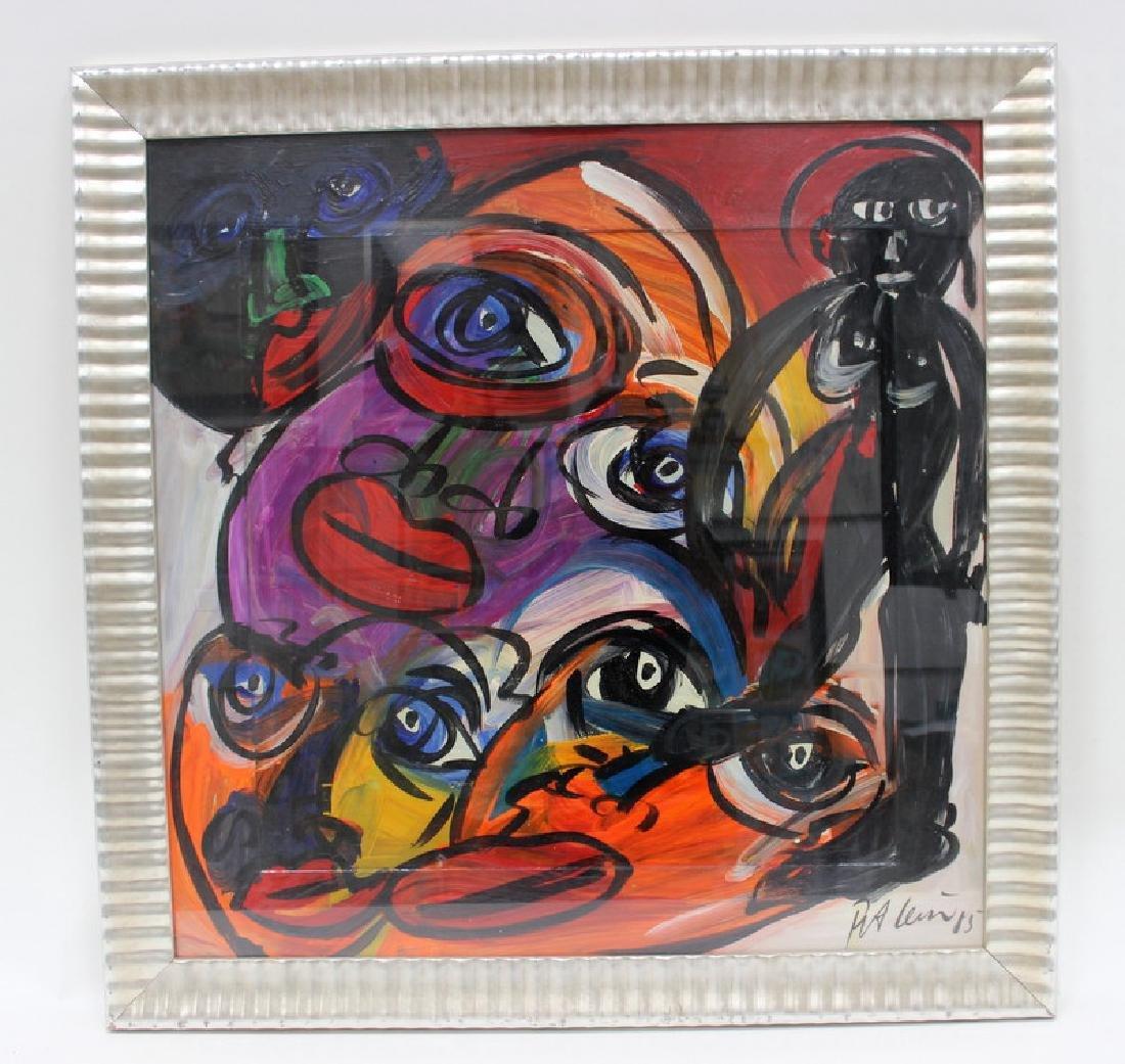 """PETER KEIL (GERMAN B.1947) """"MY LIPS YOUR EYES"""" - 3"""