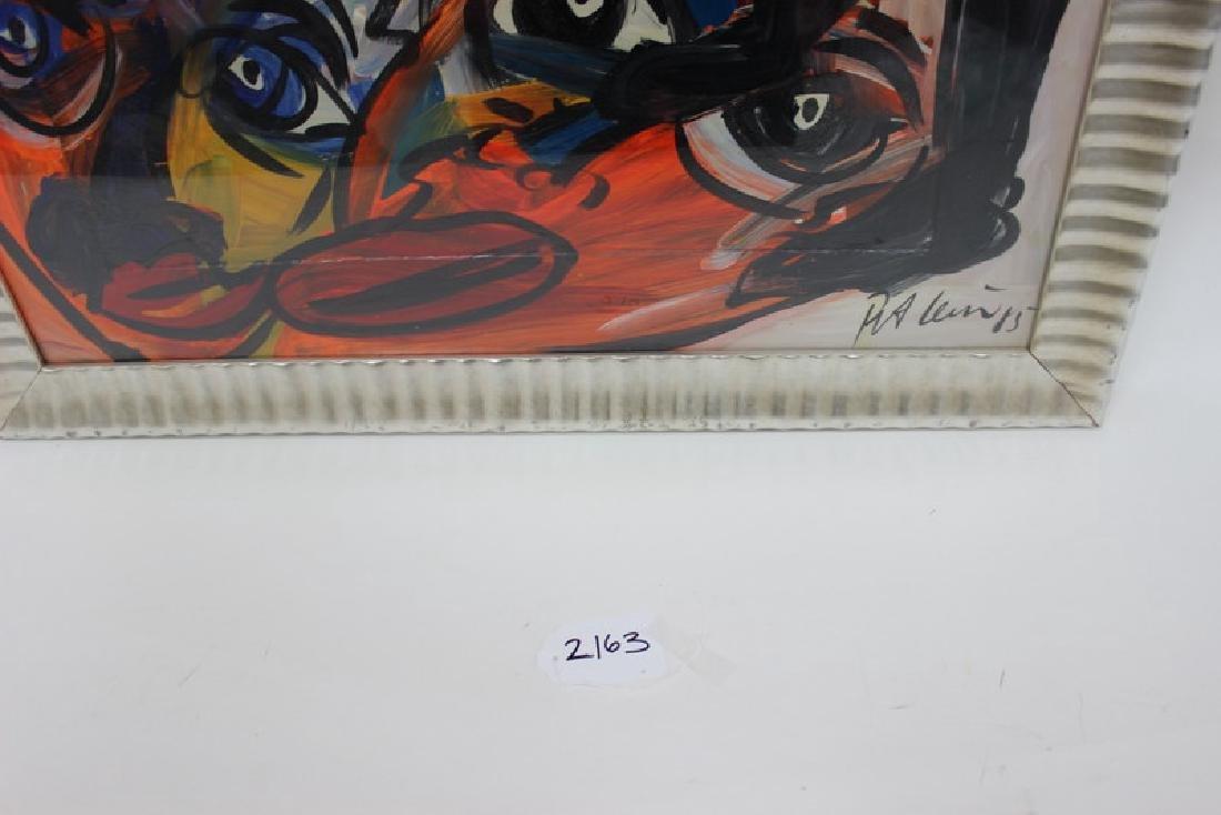 """PETER KEIL (GERMAN B.1947) """"MY LIPS YOUR EYES"""" - 4"""
