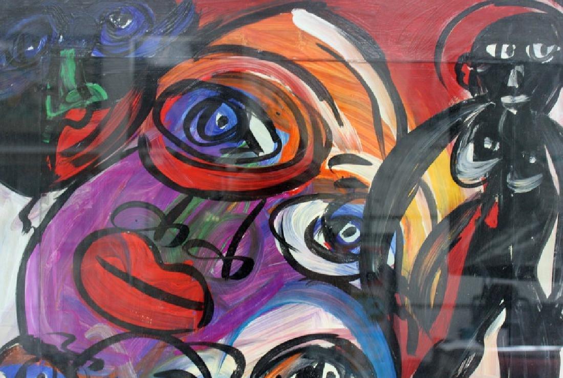 """PETER KEIL (GERMAN B.1947) """"MY LIPS YOUR EYES"""" - 6"""