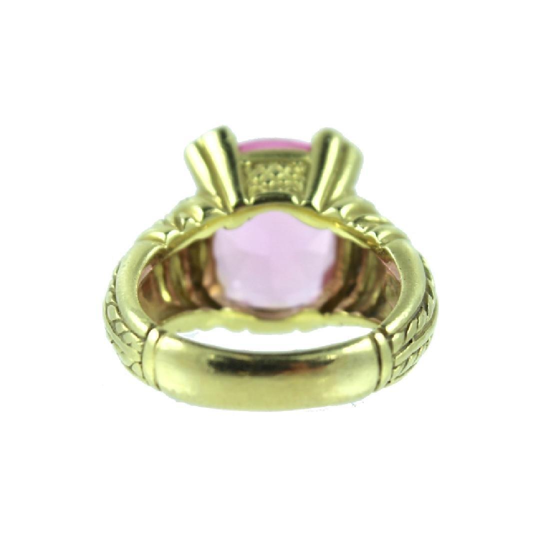 18 KARAT JUDITH RIPKA DIAMOND RING - 2