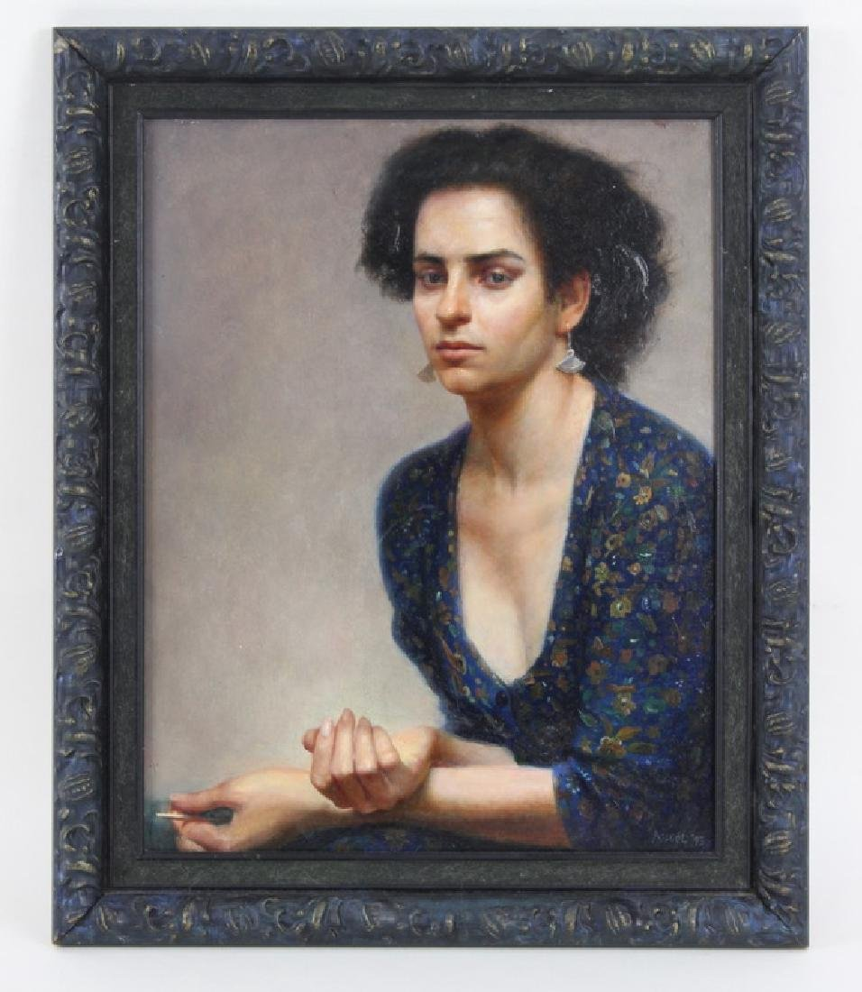 "STEVEN ASSAEL ""WOMAN WITH KNITTING NEEDLE"" 1993 - 3"