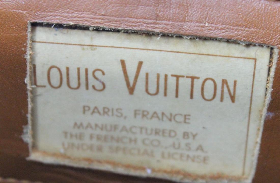 LOUIS VUITTON LEATHER MONOGRAM DUFFEL BAG - 2