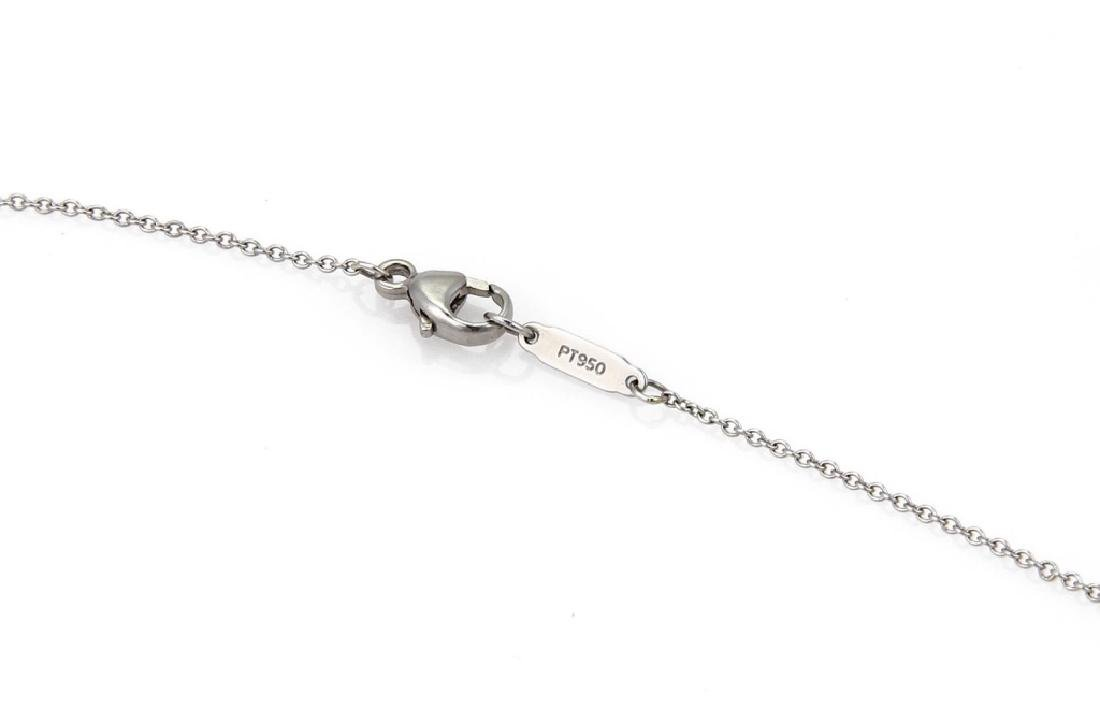 "TIFFANY & CO ""K"" DIAMOND NECKLACE - 3"