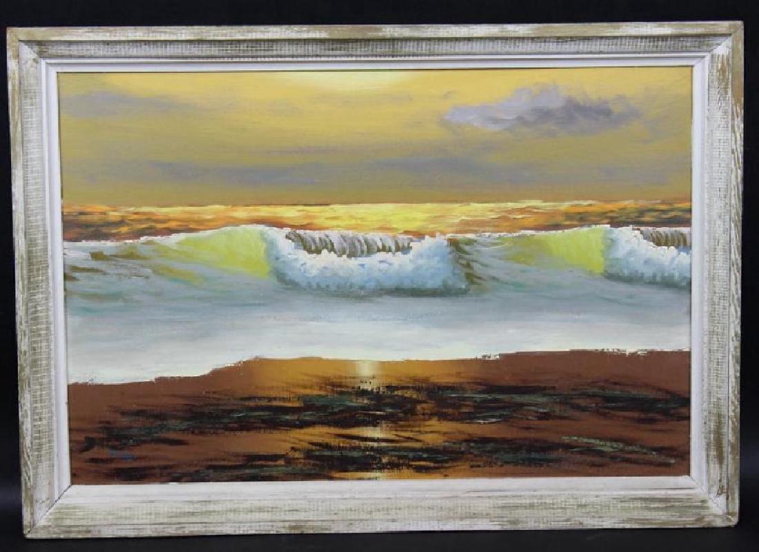 Alfred Hair Florida Highwaymen Painting - 4