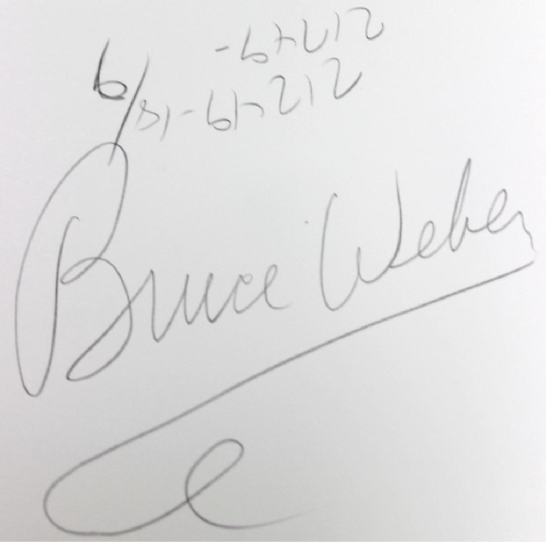 BRUCE WEBER (AMERICAN, B. 1946) PHOTOGRAPHY - 5