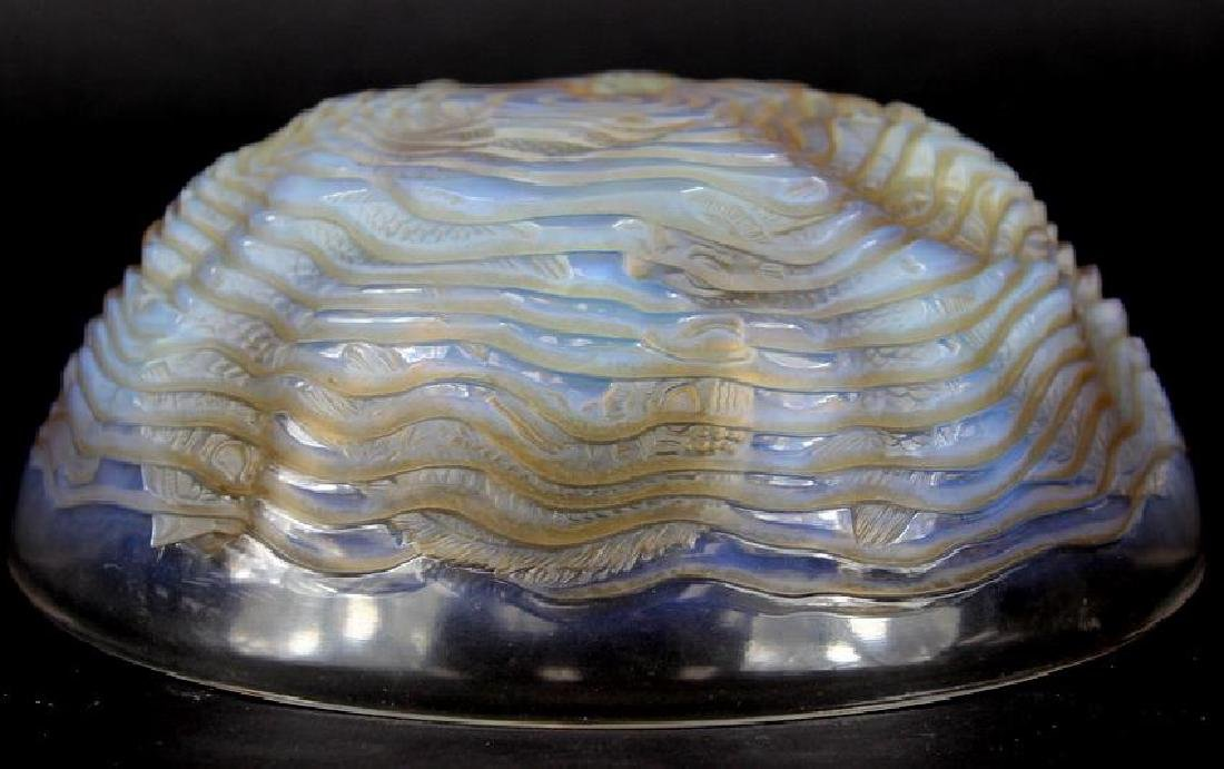 RENE LALIQUE BOWL COY FISH - 4