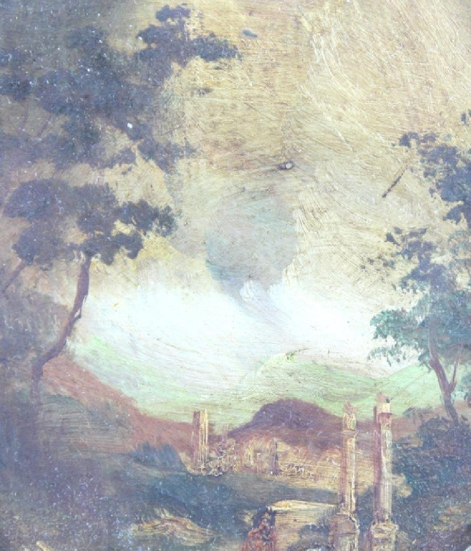2) TWO ANTIQUE PAINTINGS - 2