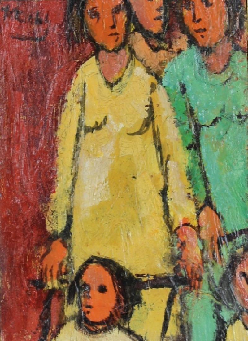 "FRANK KLEINHOLZ (AMERICAN, 1901-2001) ""STROLLING"""