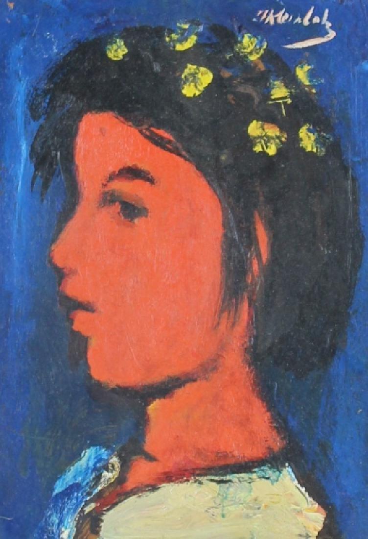"""FRANK KLEINHOLZ (AMERICAN, 1901-2001) """"LANA"""""""