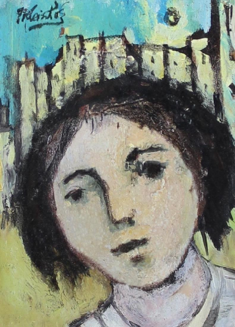 "FRANK KLEINHOLZ (AMERICAN, 1901-2001) ""YOUNG GIRL"""