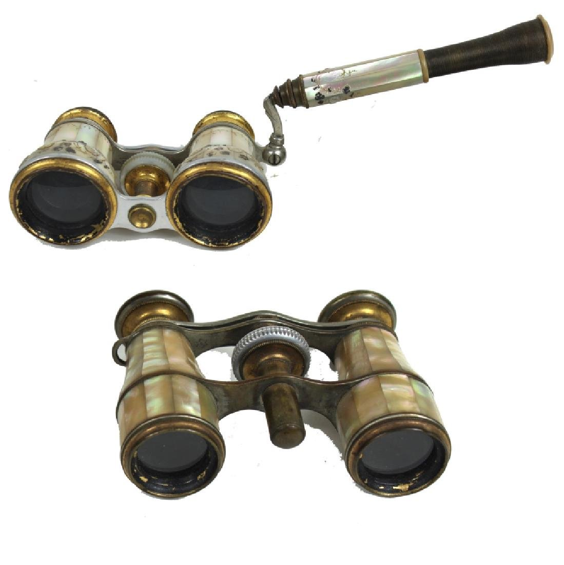 PAIR FRENCH M.O.P OPERA GLASSES
