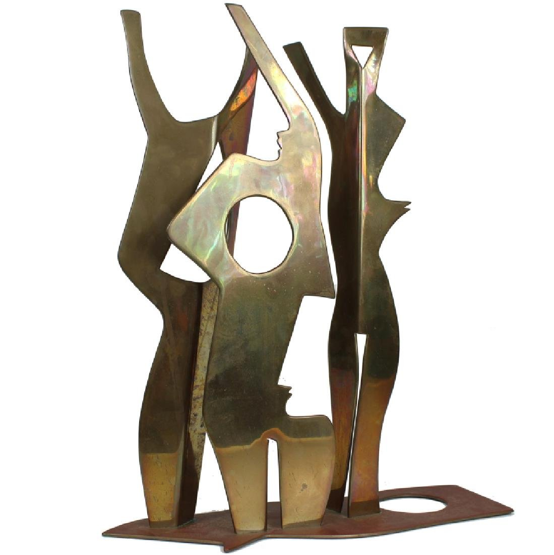 SICA, CONTEMPORARY, BRASS SCULPTURE