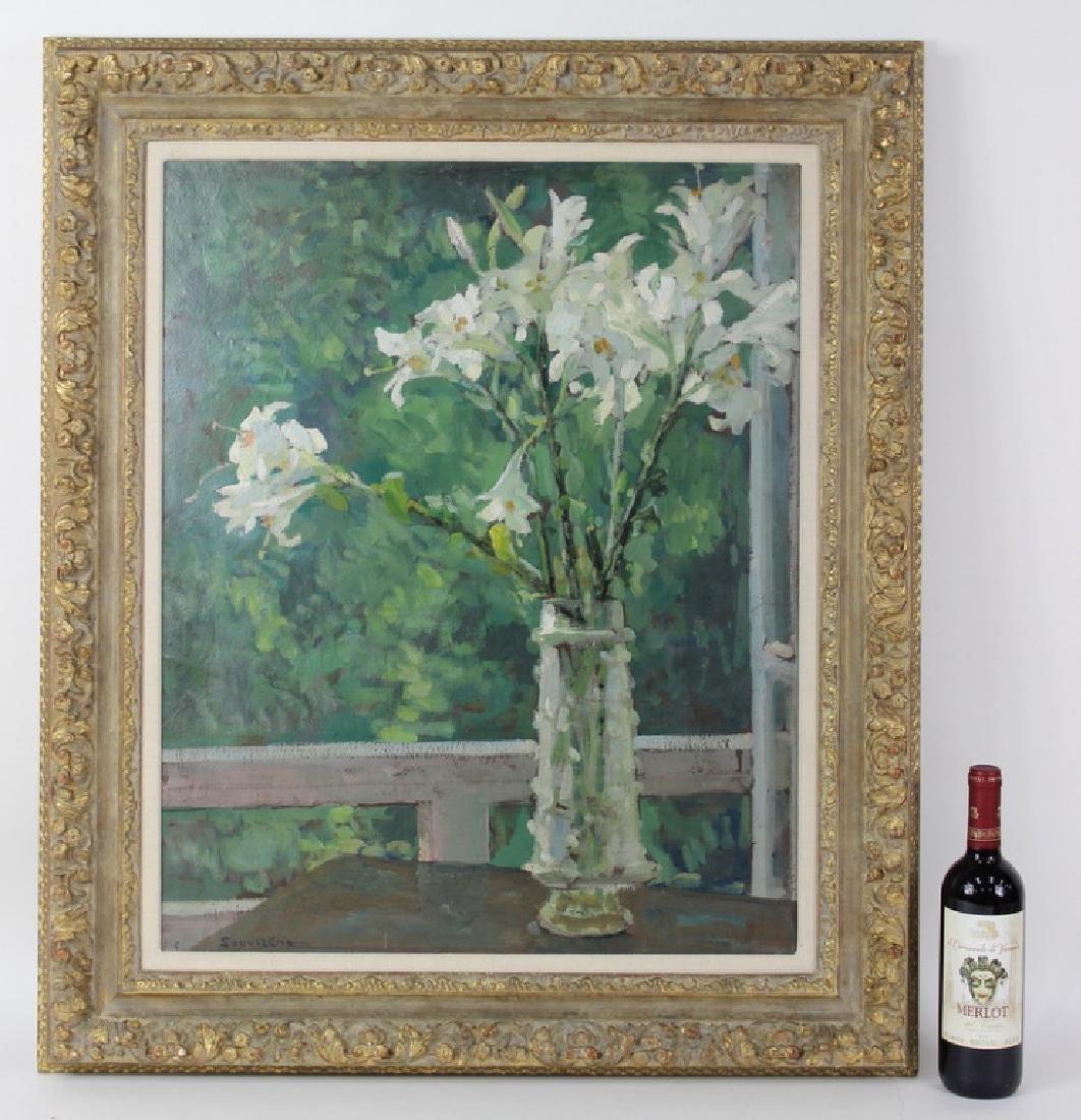 """Jean Souverbie (FRENCH, 1891–1981) """"Bouquet de Lys"""""""