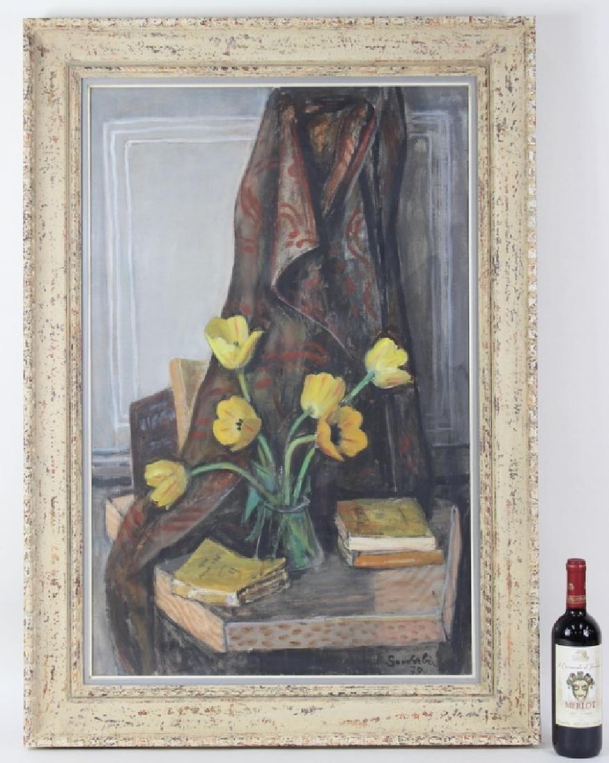 "Jean Souverbie (FRENCH, 1891–1981) ""Tulipes Jaunes"""