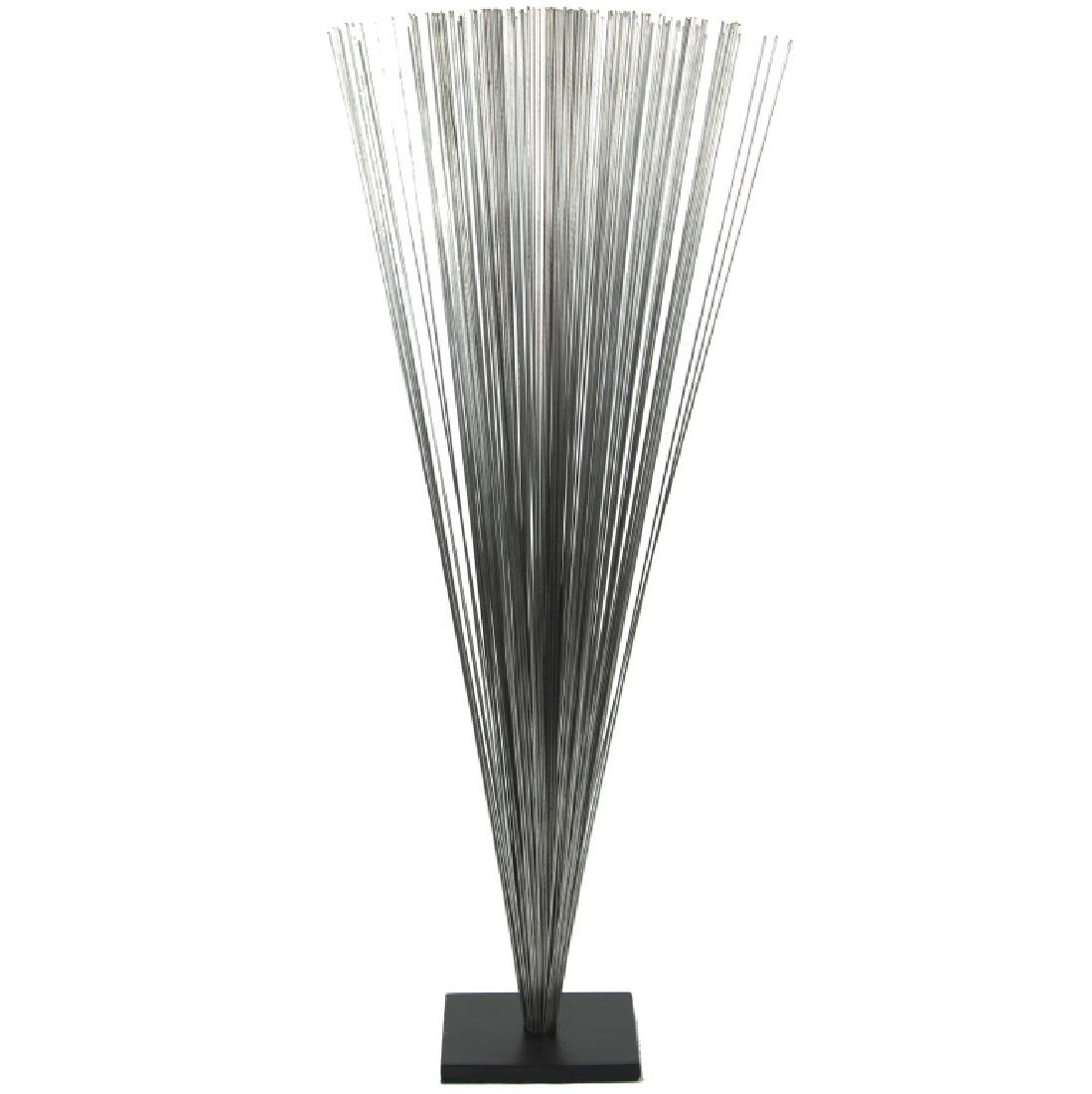 STAINLESS STEEL SPRAY SCULPTURE