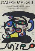 Joan Miro' Galerie Maeght