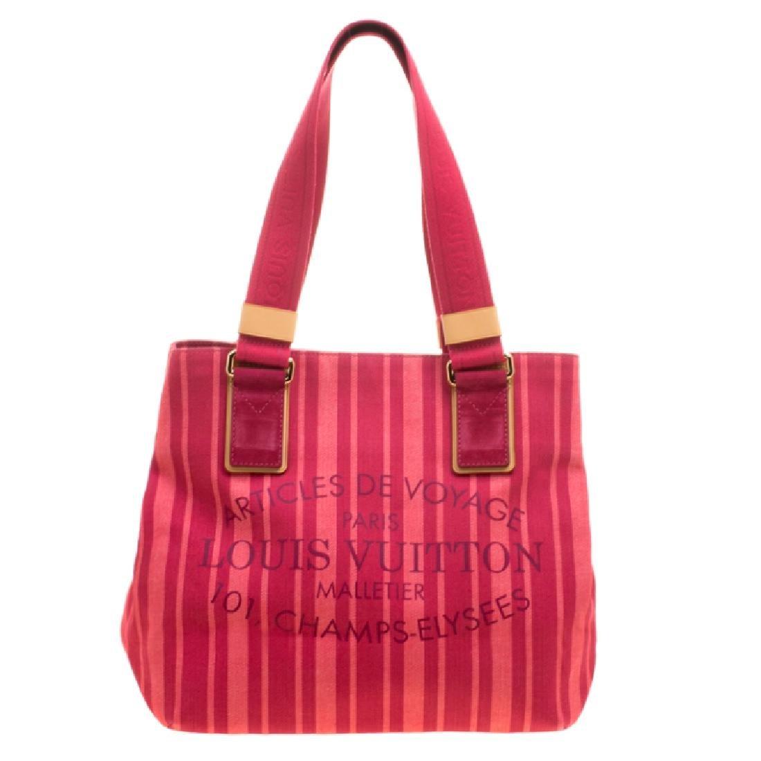 Louis Vuitton 'Articles De Voyage' Pink Hand Bag