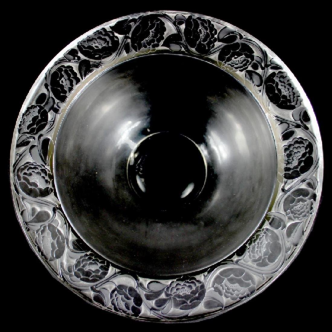 "RENE LALIQUE ""CERNUSCHI"" ART GLASS BOWL"