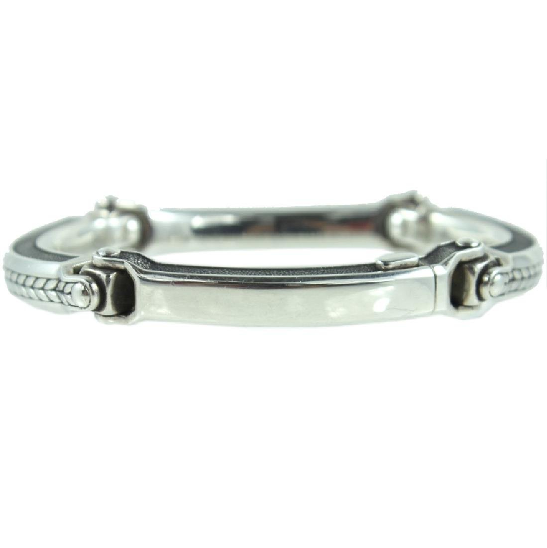 Mens David Yurman 4 Link Bracelet.
