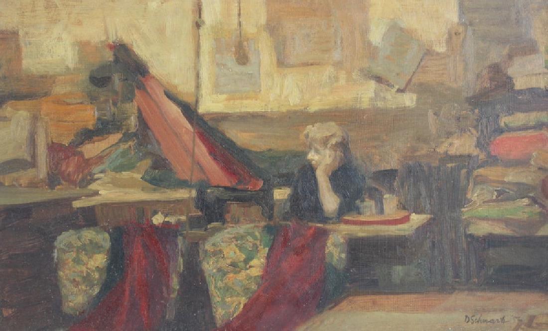 Daniel Bennett Schwartz Oil Painting