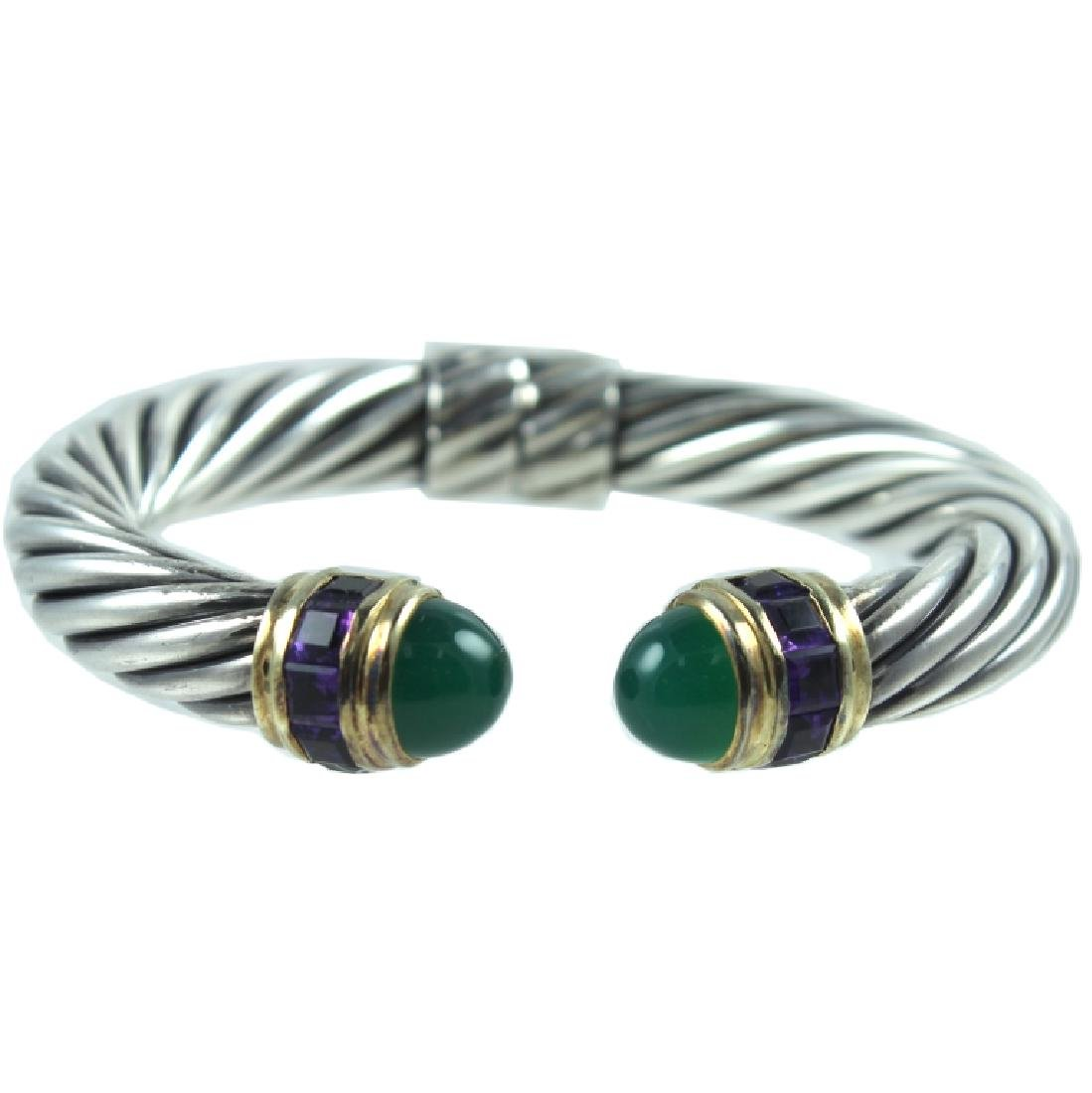 David Yurman Hinged Cuff Bracelet.