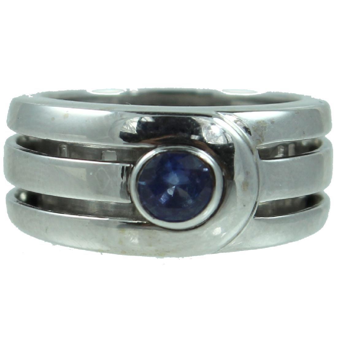 18K DiModolo Sapphire Ring.