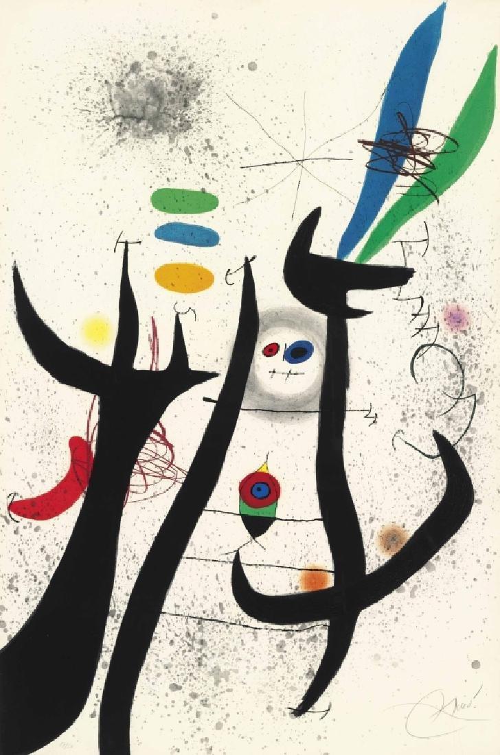 "JOAN MIRO (1893-1983) ""La Femme Arborescente"""