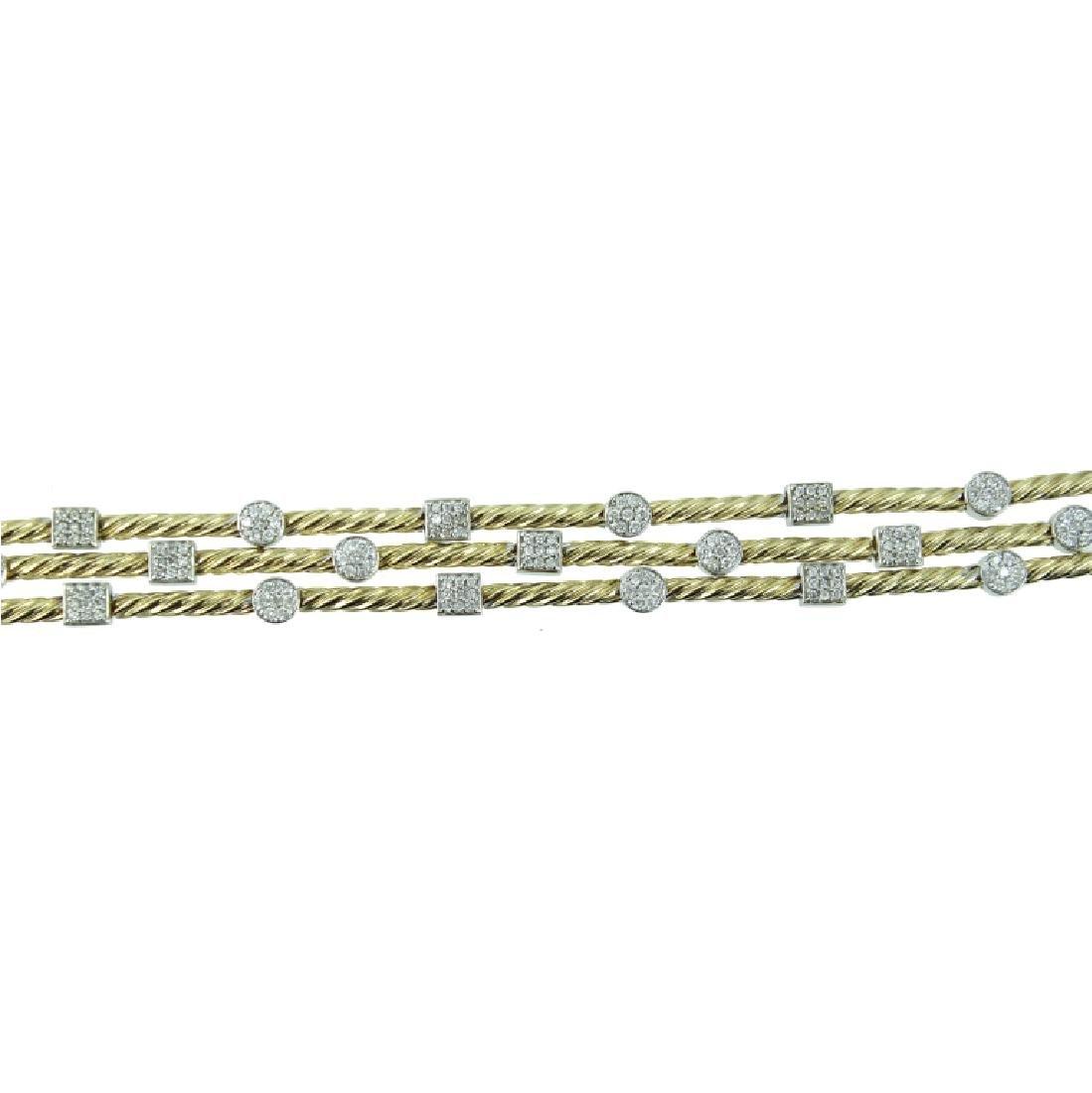 14K Yellow Gold Ladies Bracelet.