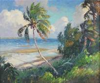 Albert Ernest Beanie Backus Florida Highwaymen