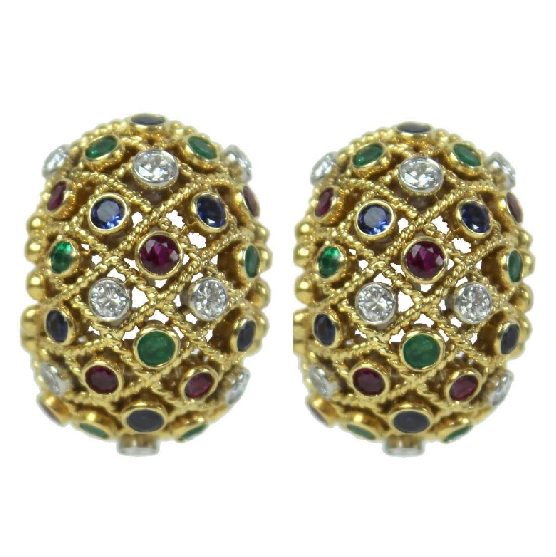 Van Cleef & Arpels Earrings.