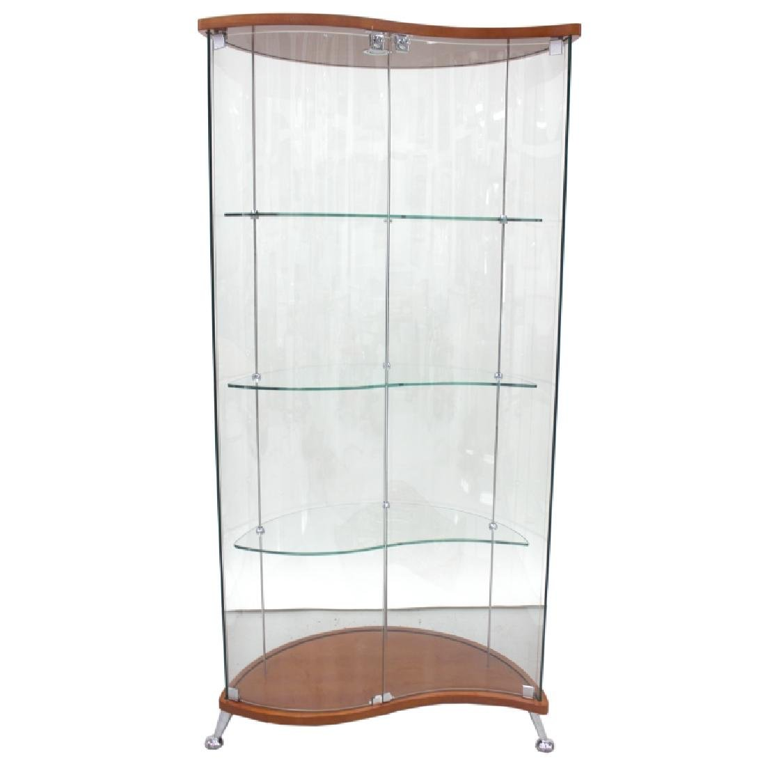 Lighted, Glass Display Case