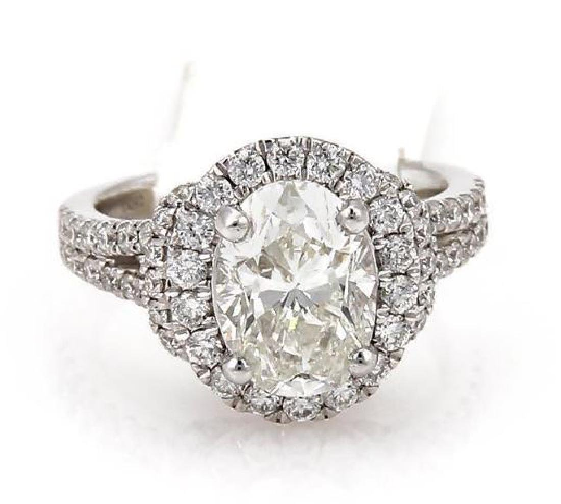 3.56 TCW ENGAGEMENT RING